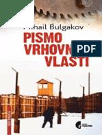 Pismo Vrhovnoj Vlasti - Mihail Bulgakov