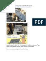 Calentador Solar de Agua Casero