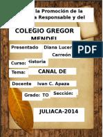 CARATULA Gregor Mendel