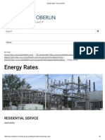 City of Oberlin - Energy Rates