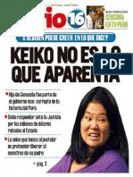 Keiko Fujimori Asesina