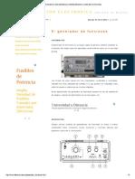 Electronicam.es. Instrum... Generador de Funciones