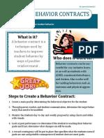 behaviorcontract handout