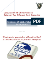 Slides Calculate Point of Indiff Between Two Diff Scenarios that Share Variable.pptx
