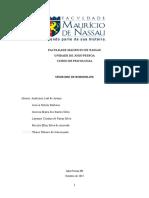 Neuroanatomia -Trabalho Escrito - Sindrome de Boderline