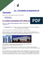 La Rotura Espontánea Del Vidrio Templado _ Materiales Al Día - Novedades en Ingeniería de Materiales