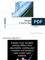 07 Variable Costing - A Tool for Management