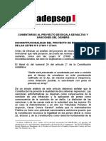 Adepsep - Comentarios Al Pas Osinergmin