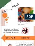 Linea Del Tiempo. La Infancia El Niño.