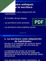 Cuatro Enfoques de La EscritREDACCIÓNura (1)