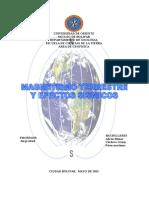 Trabajo de Geofisica Magnetismo 2013