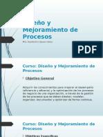 Diseño y Mejoramiento de Procesos