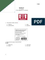 Form 4 Standardised Test 3 Paper 2 July 2015 Finalised