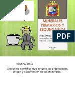 Minerales Primarios y Secundarios
