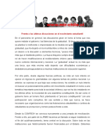 Declaración Pública JRME - 2016