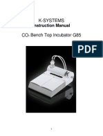 K-systems G85 Bench Top Co2 Incubator