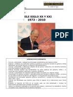 guía  Chile desde la dictadura hasta la democracia  1973- 2010