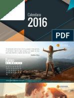 Calendario 2016(HD) Version Pequena