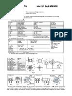 Sensor Calidad Del Aire SNS-MQ135