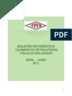 Boletin Estadistico Abril Junio_2011