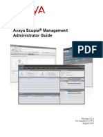 Avaya Scopia Management Admin Guide