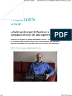 La Historia de Czerweny CZ Spectrum, La Computadora Sinclair Con Sello Argentino - 05.04