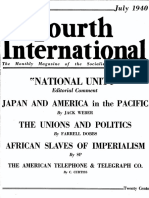Fourth International - July 1940 - Socialis Workers Party