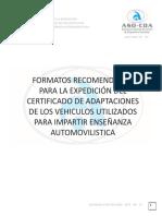 Formatos para CRC