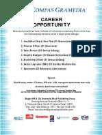 PosterCareerOpportunity New Job Fair