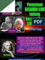 Newton & Einstein Ttg Ilmu Tuhan