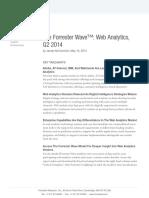 forrester Web Analytics Wave