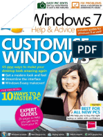 CUSTOMISATION OF WINDOWS -7