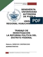 Reforma Política Df