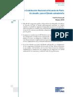 La Contribución Nacional Al Acuerdo de París