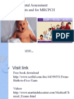Developmental Assessment for Pediatric Residents