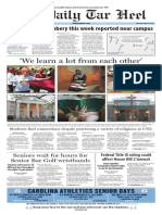 The Daily Tar Heel for April 21, 2016