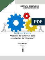 Plantilla Para Reporte Tecnico Gestión Pro Procesos 2016