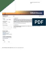 Schlumberger Oilfield Glossary PDF