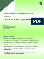 C01.03 Truncation Errors & Taylor Series