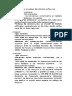 Animales en peligro de extinción en Panamá.docx