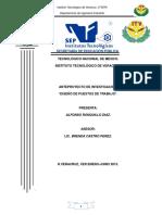 Diseño de Los Puestos de Trabajo(ALFONSO RONQUILLO)