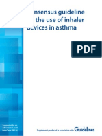 Consensus guideline on the use of inhaler devices in asthma