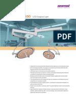 Lampu Operasi LED Purelit OL9500 (Short Version)