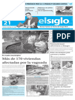 Edición Impresa El Siglo 21-04-2016