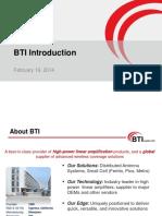 BTI Company Profile