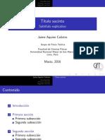 latex diapositiva