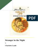 C Lamb Stranger in the Night