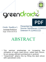Greendroid seminar