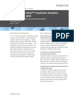 Forrester Wave Customer Analytics 108167