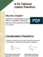 23 CH243 Carbonyl Condensation Rxns 140506